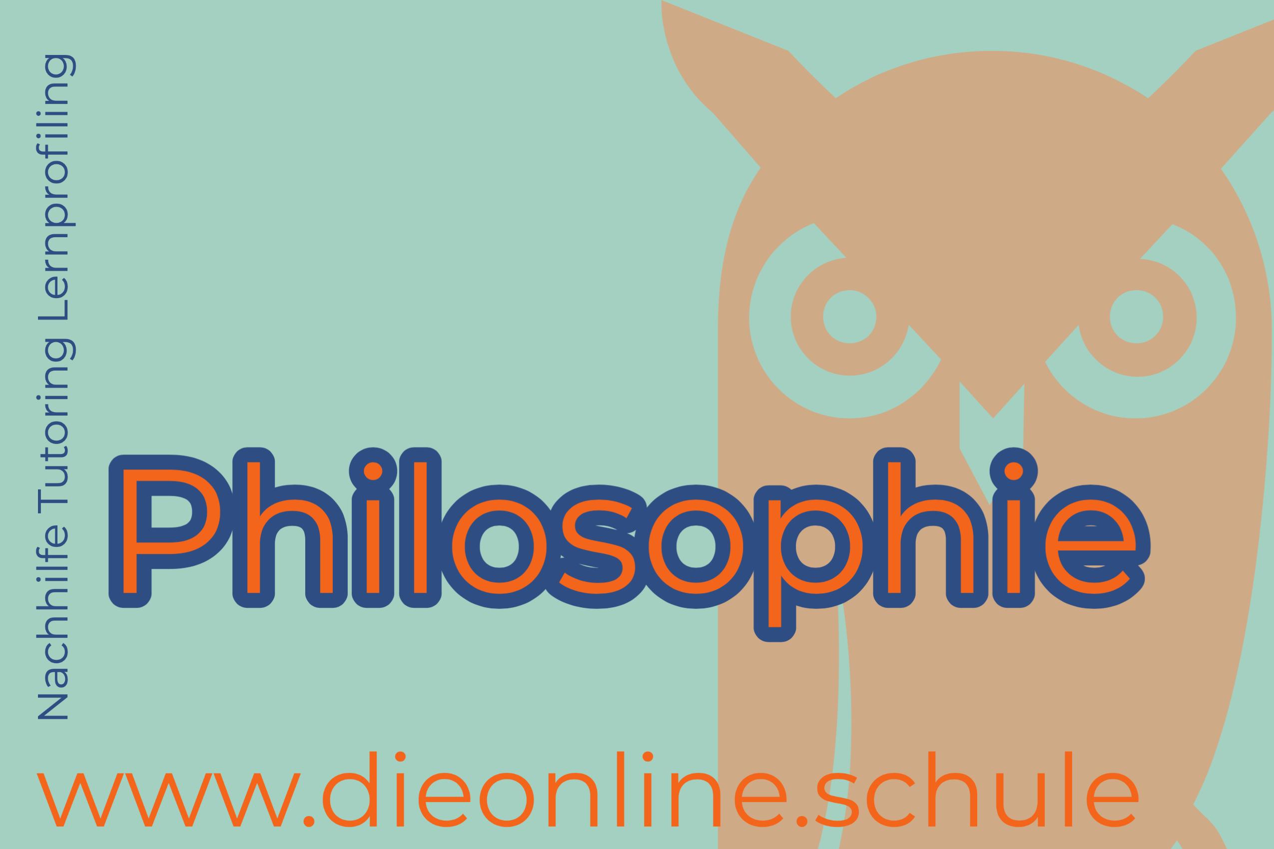 Fachraum Philosophie/ Ethik